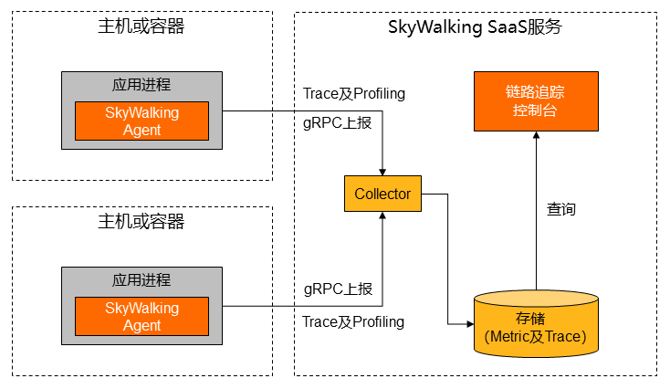 Report Tracing Data By Skywalking